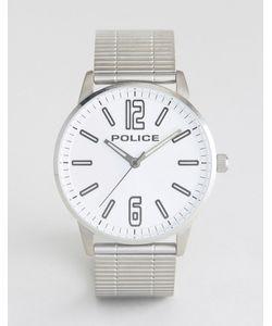 Police | Часы С Браслетом Из Нержавеющей Стали И Серебристым Циферблатом Esquire