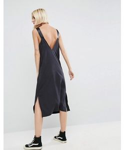 Asos | Джинсовое Платье-Комбинация С D-Образными Кольцами