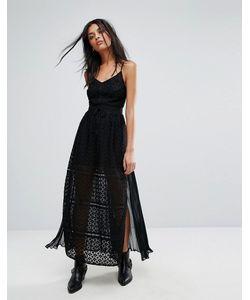 ALLSAINTS | Кружевное Платье Макси Alsen