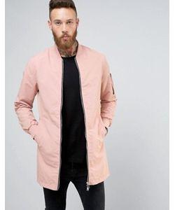 Brave Soul   Длинная Куртка На Молнии
