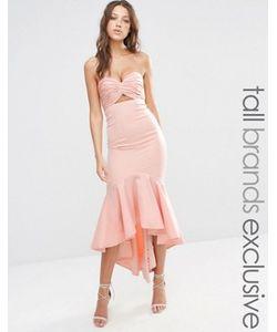 Jarlo Tall   Платье Миди Бандо