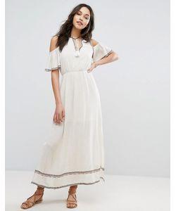 Moon River | Платье Макси С Вышивкой
