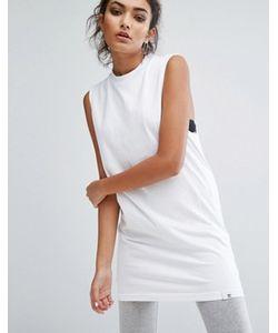 Adidas | Белая Длинная Майка Xbyo