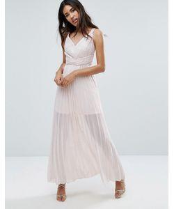 TFNC | Плиссированное Платье Макси