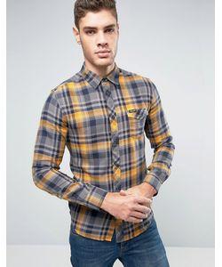 Wrangler | Узкая Рубашка В Клетку В Стиле Вестерн