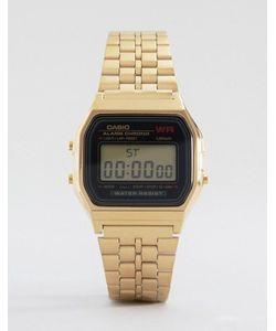 Casio | Электронные Часы С Золотым Ремешком A159wgea-1ef