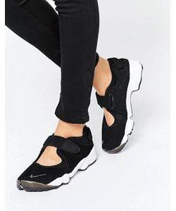 Nike | Черные Воздухопроницаемые Кроссовки С Ремешком Rift
