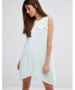 Darling | Платье Асимметричной Длины С Кружевом