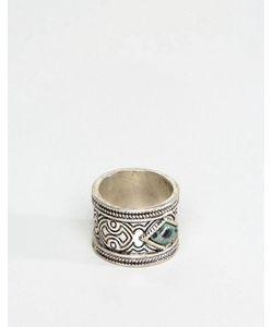 Asos | Кольцо С Зеленым Камнем