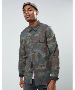 Volcom | Камуфляжная Рубашка Классического Кроя Woodland