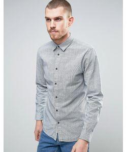Selected Homme | Приталенная Хлопковая Рубашка В Клетку