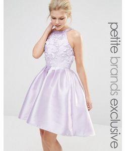 Chi Chi Petite | Платье Мини Для Выпускного С Аппликацией Chi Chi London Petite