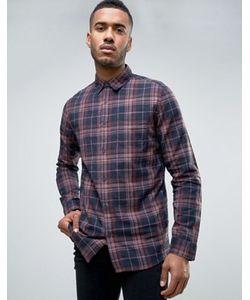 New Look | Серо Клетчатая Рубашка Классического Кроя В Стиле Вестерн