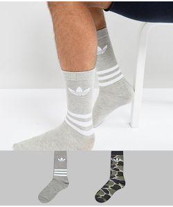 adidas Originals | Набор Из 2 Пар Носков С Камуфляжным Принтом Bq5964