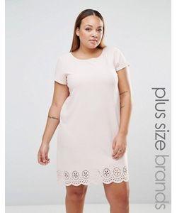 Praslin | Цельнокройное Платье С Лазерной Резной Отделкой Plus
