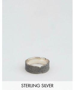 Asos | Кольцо Из Окисленного Серебра Sterling