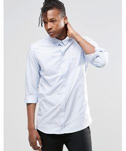 ADPT | Рубашка С Длинными Рукавами Beck Синий