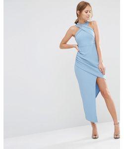 Ginger Fizz | Платье Без Рукавов С Асимметричной Юбкой