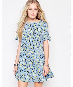 Influence | Платье С Цветочным Принтом Синий