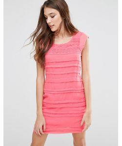 Lavand. | Платье Со Вставками Lavand Розовый