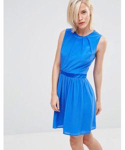 Lavand. | Приталенное Платье Lavand Синий