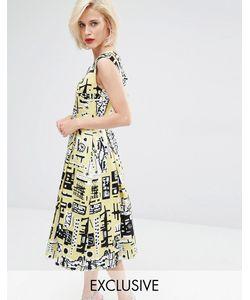 Horrockses | Платье Для Выпускного Monica Желтый Pr