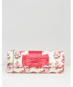 Lotus | Клатч С Цветочным Принтом Розовый С Цветочным Принтом
