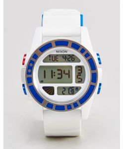 Nixon x Star Wars | Цифровые Часы R2-D2 Белый