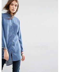 Hilfiger Denim | Легкая Джинсовая Рубашка Индиго