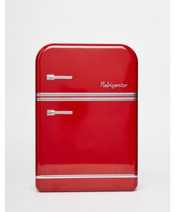 Temerity Jones | Красная Жестяная Коробка Для Завтрака В Виде Холодильника