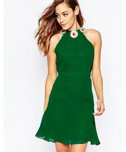 VLabel London | Платье Мини Vlabel Albany Зеленый