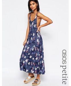 ASOS PETITE | Платье-Трапеция С Цветочным Принтом Мульти