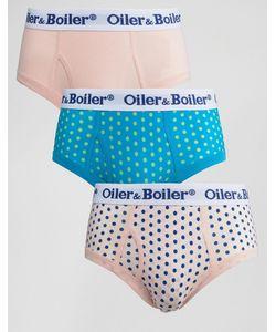 Oiler & Boiler | 3 Трусов В Горошек Мульти