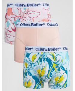 Oiler & Boiler | 3 Пары Боксеров-Брифов Mariposa Мульти