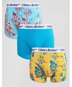 Oiler & Boiler | 3 Пары Боксеров-Брифов Мульти