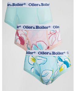 Oiler & Boiler | 3 Трусов С Принтом Марипосы Мульти