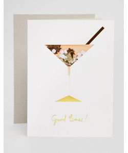 Meri Meri | Поздравительная Открытка На День Рождения Cocktail Confetti