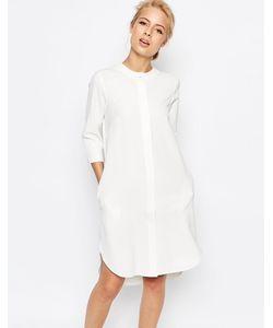 Closet   Удлиненное Платье-Рубашка