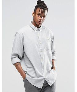 ADPT | Рубашка С Длинными Рукавами Try Синий