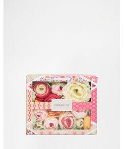 Beauty Extras | Мыло В Форме Цветов Vintage Co Ткань И Цветы