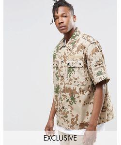 Reclaimed Vintage | Рубашка С Камуфляжным Принтом Stone