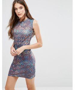 Lavand. | Облегающее Платье С Принтом Lavand Коричневый