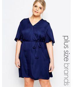 Carmakoma | Платье С Запахом Темно-Синий