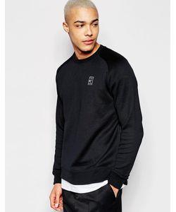 Nike | Черный Свитшот С Круглым Вырезом 744010-010 Черный
