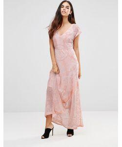 Jayley | Платье Макси С Принтом Мульти