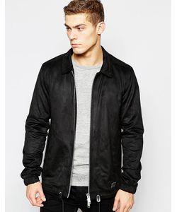 Brixtol | Куртка Из Искусственной Замши Черный
