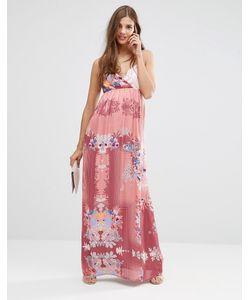 Lavand. | Платье Макси С Цветочным Принтом Lavand Розовый