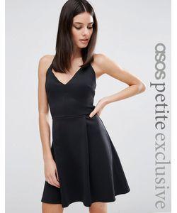 ASOS PETITE | Платье Для Выпускного Черный