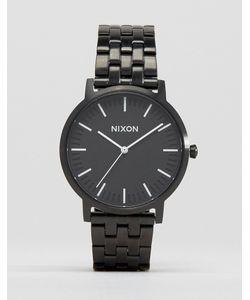 Nixon   Черные Наручные Часы Porter Черный