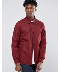 Asos | Бордовая Тренерская Куртка Из Хлопка Burgundy